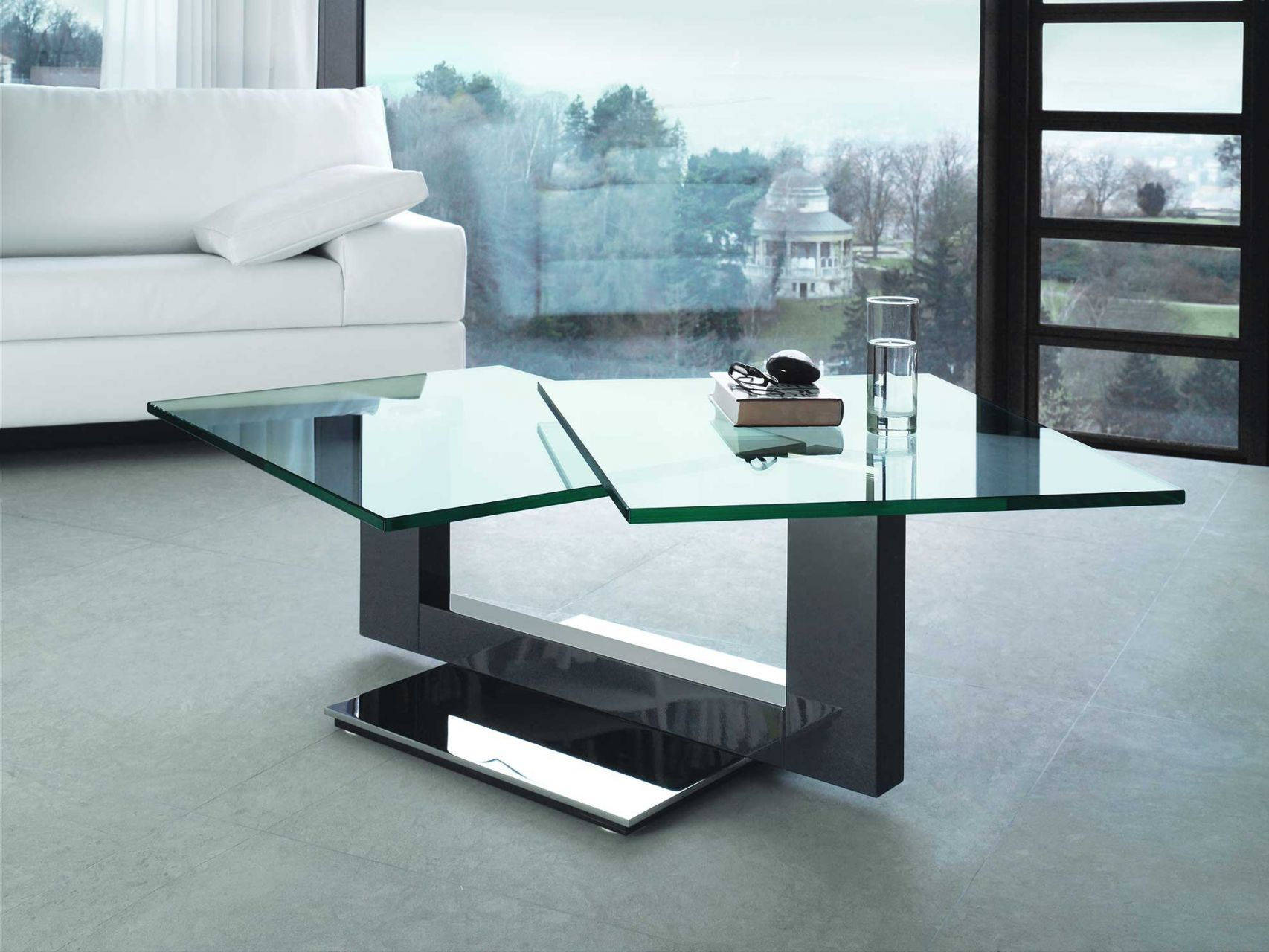 glas couchtisch schwenkbar energiemakeovernop. Black Bedroom Furniture Sets. Home Design Ideas