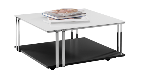 PHOTON. Coffee table with casters