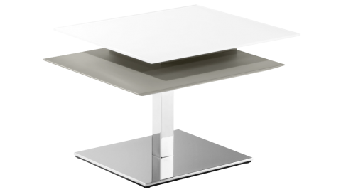 SWIFT, height-adjustable coffee table