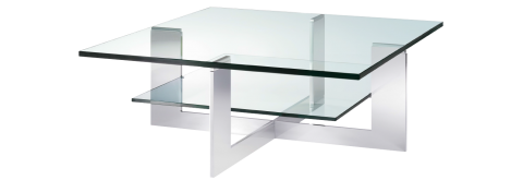 Square or rectangular coffee table