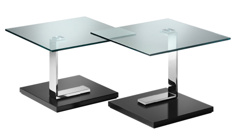 PARI, Coffee table with casters