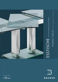 brochure dining tables  with extension devices