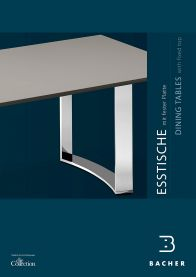 brochure dining tables with fixed top