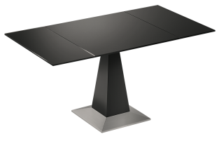 open pedestal table