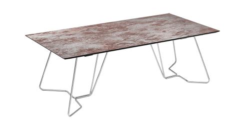 AIDEN. Dining table with fixed top
