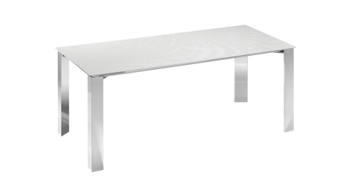 MIRADO. Dining table with fixed top