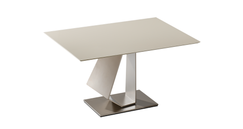 BASSO. Dining table with fixed top