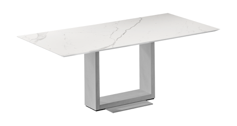 AIDEN II. Dining table with fixed top