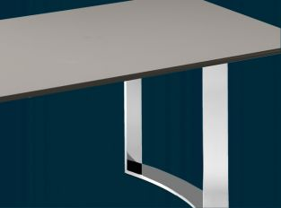 DINING TABLES with fixed top